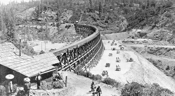 CANTON ARMY IN THE HIGH SIERRAS: Chinese workers build America's first transcontinental railroad (1863-1869)