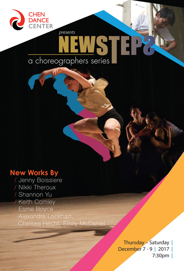 Dec 7th-9th newsteps: a choreographers Series